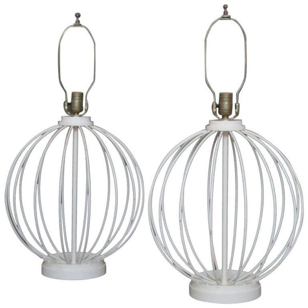 Wire Metal Ball Lamps