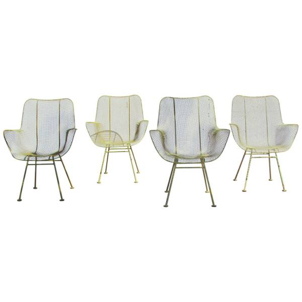 Woodard Sculptura Dining Armchairs