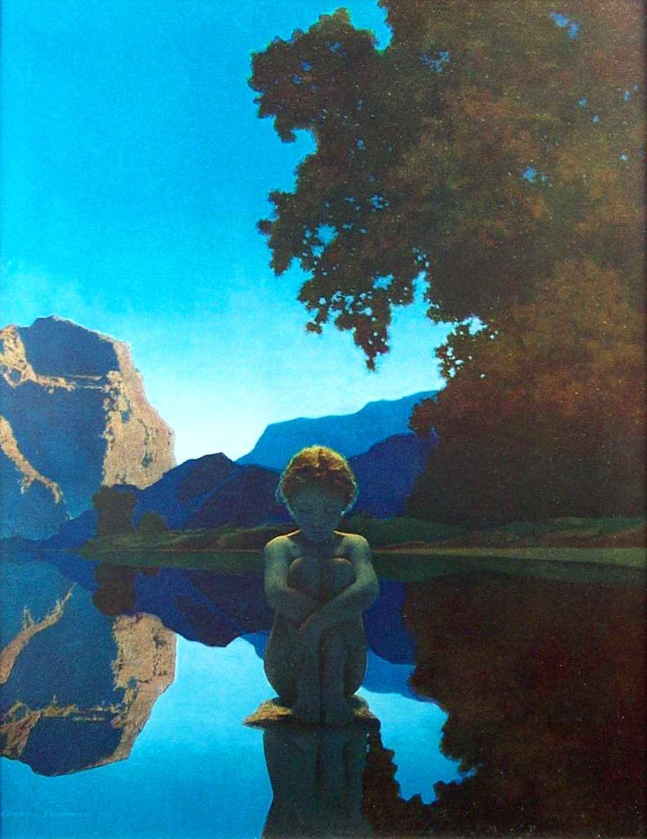 Maxfield Parrish The Doctrine Of Divine Light — DOP