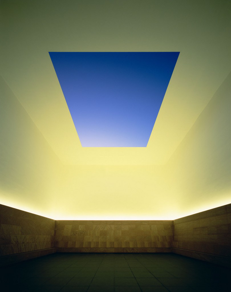 James Turrell Perceive your Perceiving  DOP