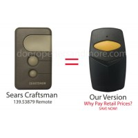 Sears Craftsman 139.53879 Compatible 390 MHz Single Button ...