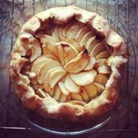 Apple gallette