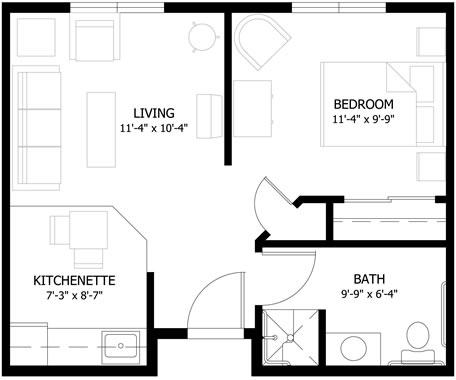 Pine Crest Village Floor Plans