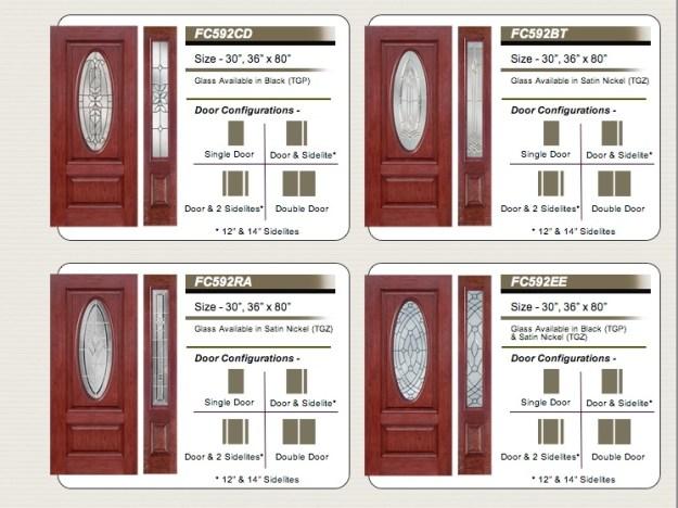 fiberglass  cherry grain   106