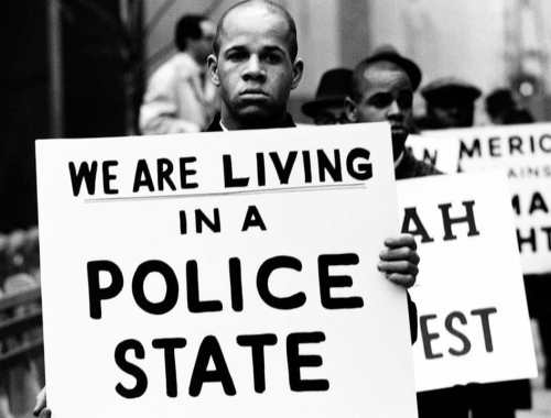 We Are Living in a Police State (Gordon Parks)