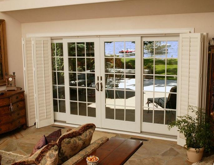 double sliding french patio doors
