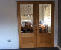 Half Glass Internal Doors Image collections - Glass Door ...
