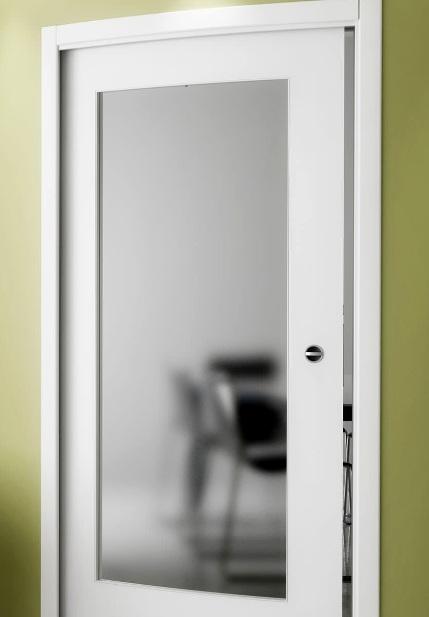 Office Door: Glass Panel Office Door