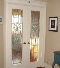 Interior French Doors With Frosted Glass Design Ideas ...