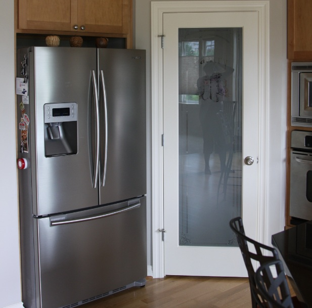 Interior French Doors With Frosted Glass Design Ideas