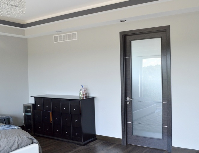 Frosted Glass Bedroom Door For Style  Improve the Look of
