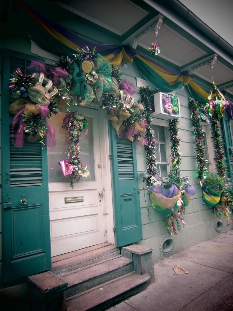 Cute Mardi Gras Decorations For Your Front Door  Doors Of
