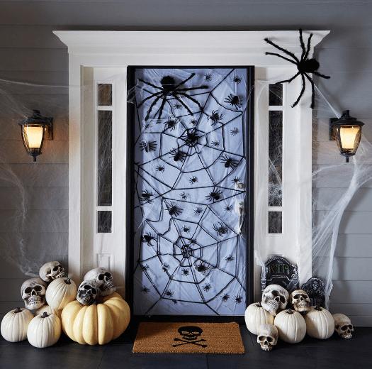 Fun Spooky Halloween Decorations For Your Front Door Doors Of Elegance
