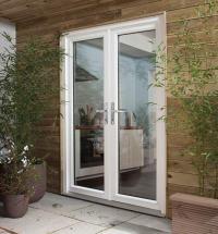 DreamVu Double French Doorset, Softwood Patio Doors