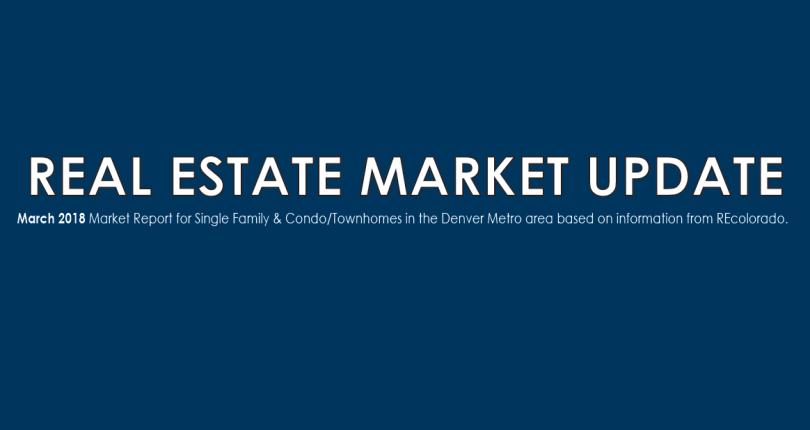 Real Estate Market Update – March 2018
