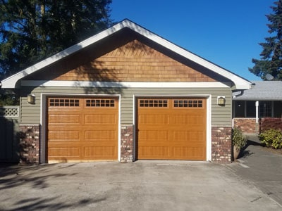 garage door repair and parts in Auburn