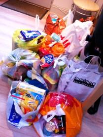 Harvest Festival Donations 2013 (3)