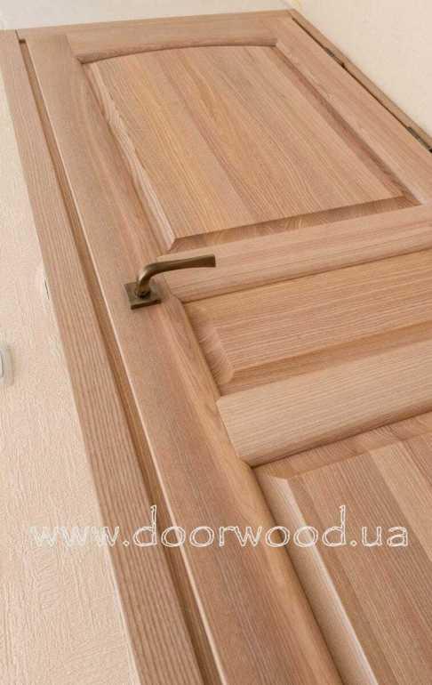 Торец двери с четвертью обеспечивает идеальное прилегание и отсутствие видимых щелей.