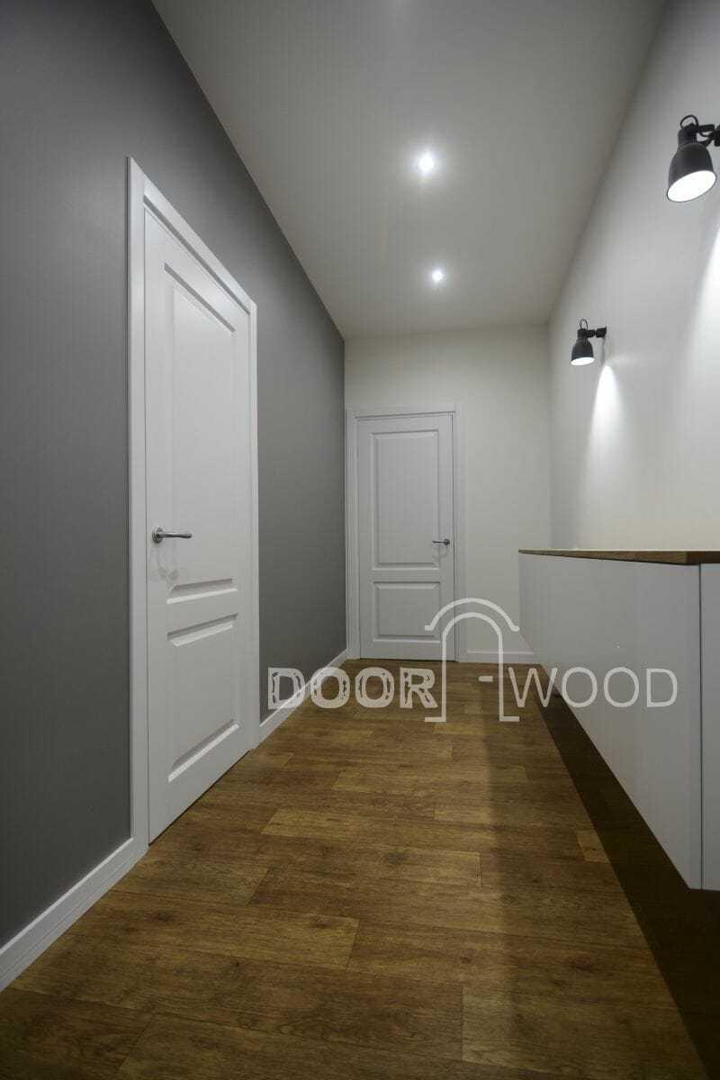 Двери межкомнатные со скрытыми петлями.