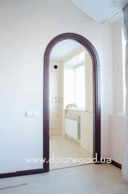 Арочный проем, арка деревянная, арка из ясеня, doorwood харьков