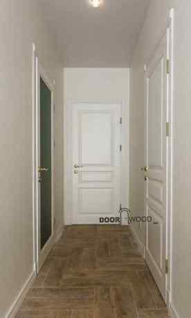 Классическая белая дверь из ясеня DoorWooD™, двери харьков, филенчатая дверь, двери из массива, Old Town