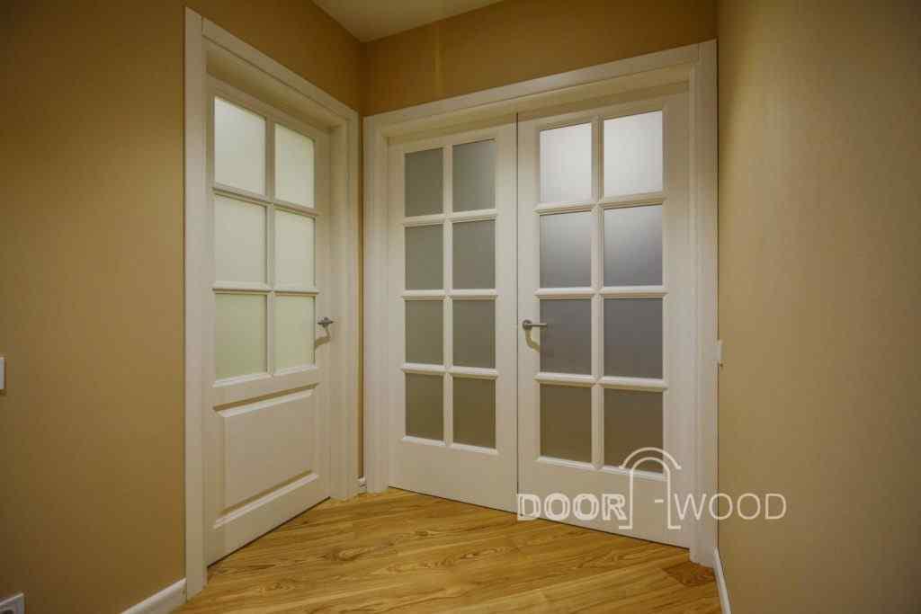 Міжкімнатні двері з ясеню в классичному стилі від DoorWooD