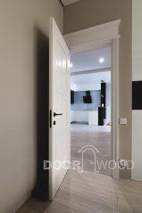 дверь межкомнатная белая глянцевая doorwood
