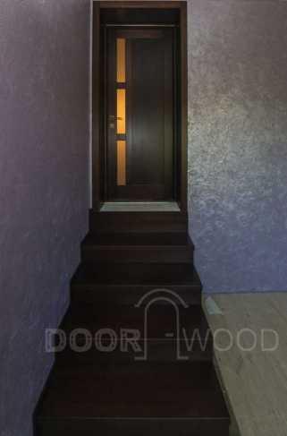 Небольшая лестница в комнате с перепадом уровня пола
