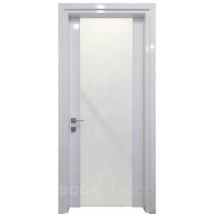 Межкомнатные двери белый глянец