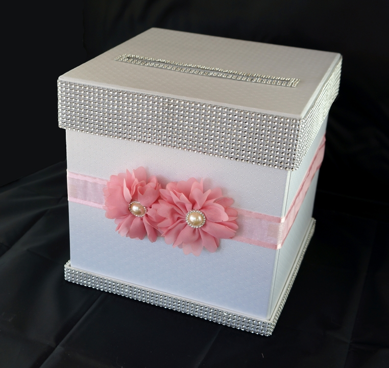 Wedding card box decoration ideas for How to decorate a money box