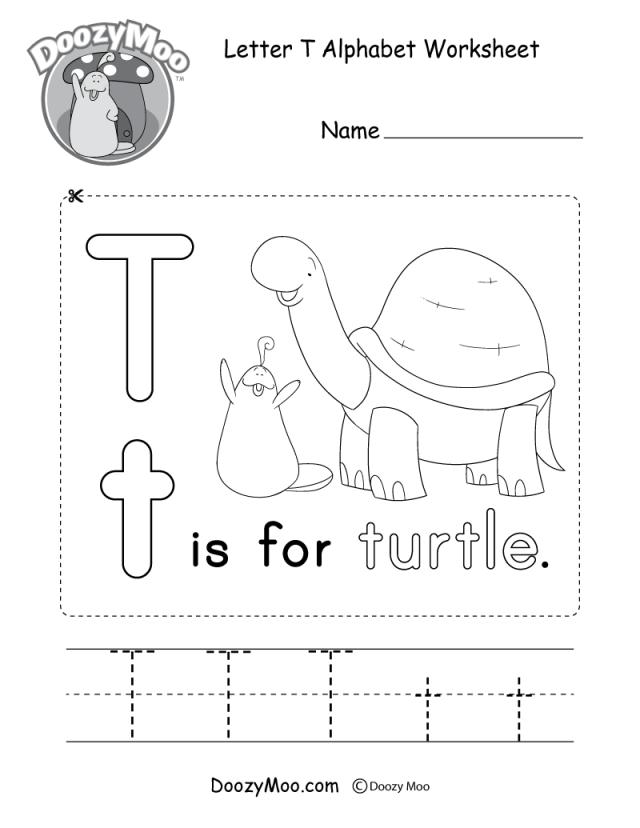 Alphabet Free Printable Worksheets