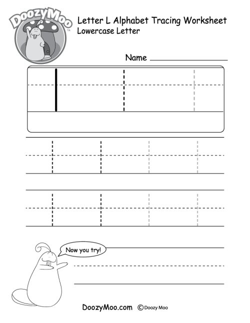 small resolution of Lowercase Letter Tracing Worksheets (Free Printables) - Doozy Moo