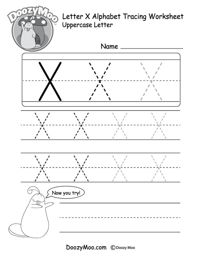 Letter X Worksheets Ownerletter Co