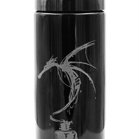 Dope Jars® 1 Liter - Deep Etched Design: Ink Dragon
