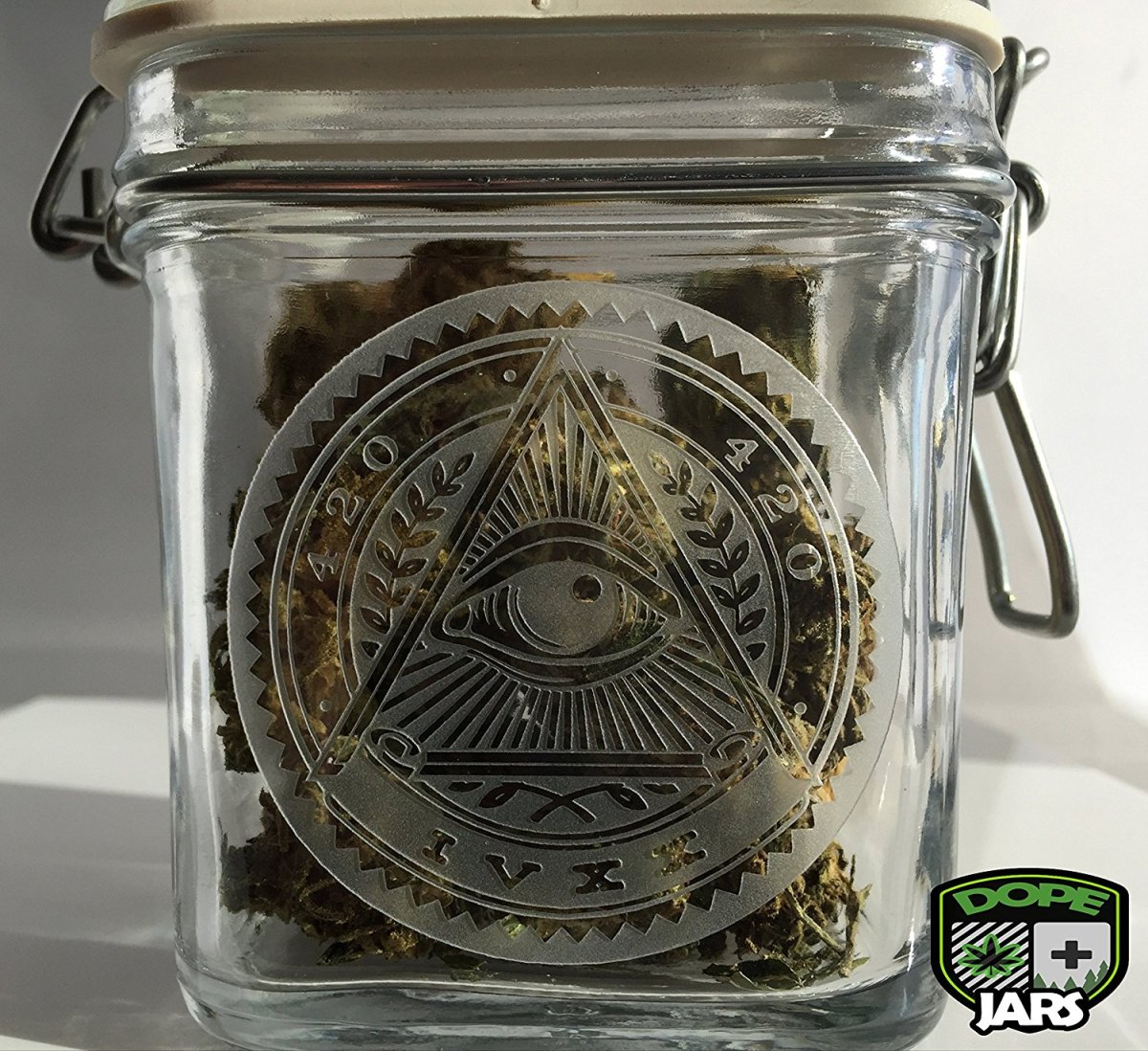 Dope Jars® Swing Top Stash Jar