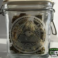 Dope Jars® Swing Top Stash Jar - Eye