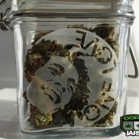 Dope Jars® Swing Top Stash Jar - One Love