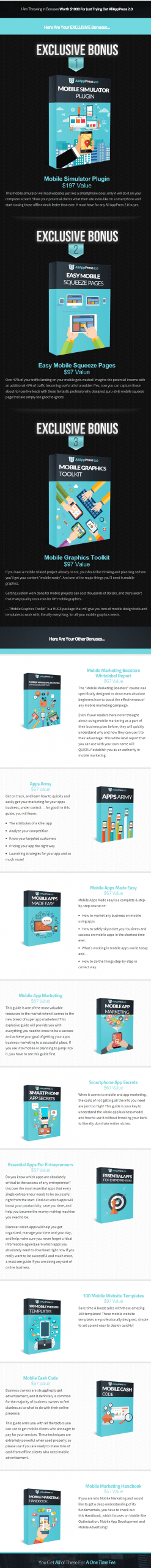 All App Press 2.0 bonus