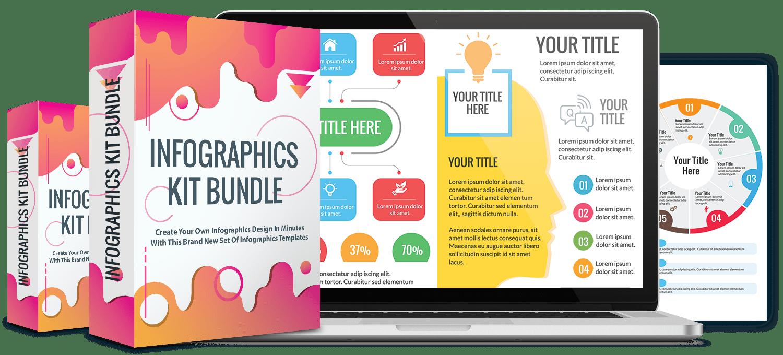 Infographics Kit Bundle Review & Bonuses - Should I Get This