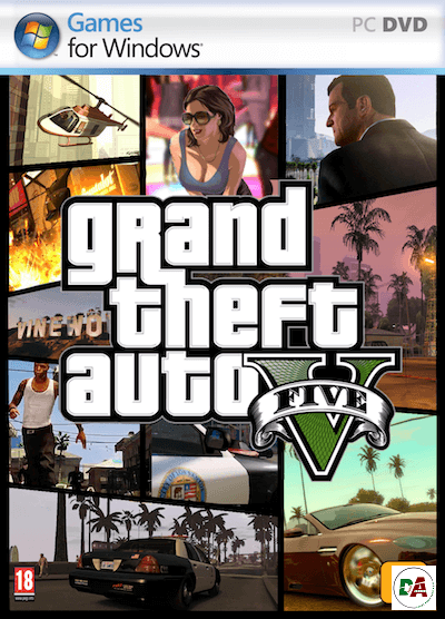 grand theft auto 5 pc cover