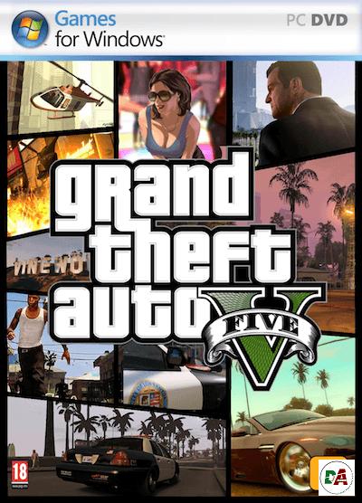 grand theft auto 5 pc cover