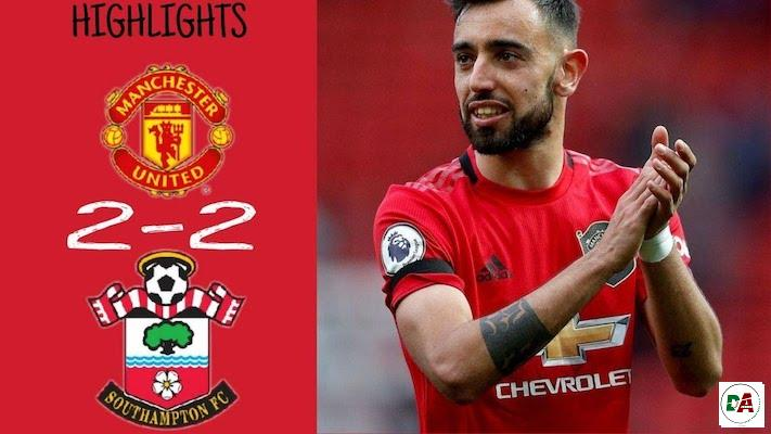 Manchester United 2-2 Southampton Highlights – 13:07:2020_(dopearena2.com)