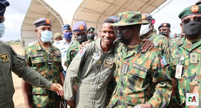 NAF fighter jet pilot, Abayomi Dairo survives bandit attack