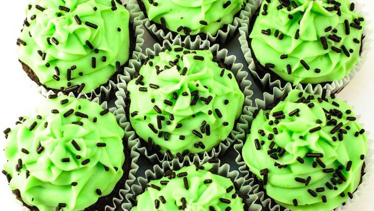 Bliss Mint Chocolate Cupcakes 1