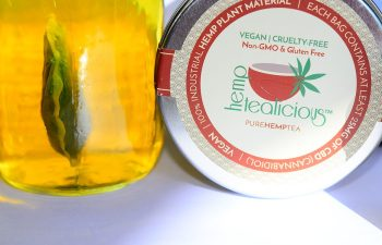 Review: Hemptealicious CBD Tea 1