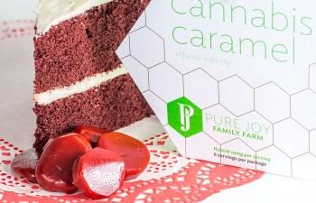 Review: Red Velvet Cheesecake Cannabis Caramel 1
