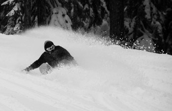 SNOWBOARDING IN WASHINGTON: Sick and Sunny 1