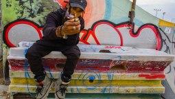 Brian Freeman B-Free Rollerblader