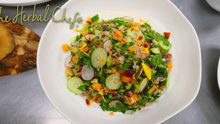 Summer Chickpea Salad Endocannabinoid System
