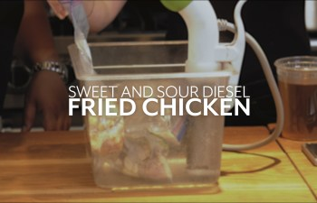 Sweet and Sour Diesel Fried Chicken